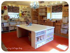 Craft Organization On Pinterest Storage Ideas Craft Rooms And