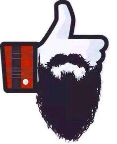 Me gusta mi barba!! :3 <3