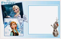 So Cute Frozen Free Printable Invitations. | Oh My Fiesta! in english