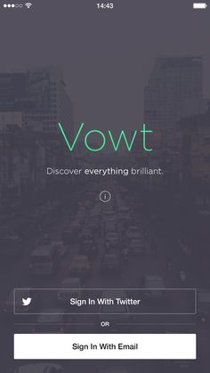 Vowt is a social voting iOS 8 app design. The package comprises of 16 different designs/pages, with each individual design optimized for iPhone iPhone 6 and iPhone 6 Plus, equating to 48 PSD screens in total. Web Design, Login Page Design, App Ui Design, User Interface Design, Mobile Login, App Login, Mobile App, Android Design, App Design Inspiration