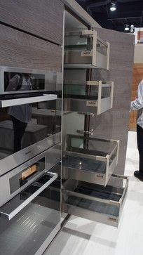 Cool corner kitchen cabinets from bauformat http://www.bauformatusa ...
