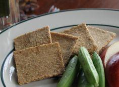 Make Your Own Healthy Go-To Gluten-Free Cracker: Gluten-Free Sesame Almond Crackers