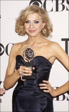 Tony winner Nina Arianda. Hail Nina!!! #TonyAwards