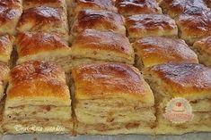 Hasznos cikkek és receptek: HAJTOGATOTT TEPSIS TEPERTŐS Kids Meals, Mashed Potatoes, Banana Bread, Baking, Ethnic Recipes, Food, Cakes, Food And Drinks, Hungary