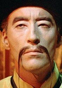 All men eat, but Fu Manchu !