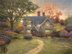 Pinturas de  Thomas Kinkade.
