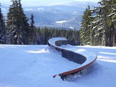 I've yet to be able to successfully ride one of these. Ski Park, Park City, Snowboarding, Skiing, Mount Rainier, Environment, River, Mountains, Places