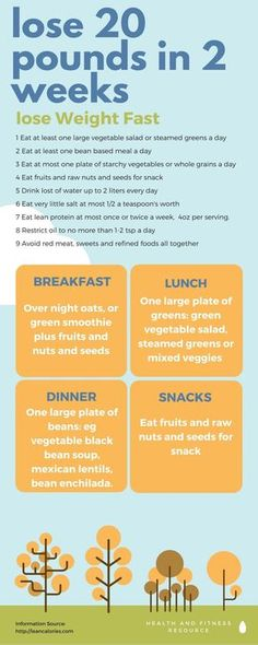 How to lose 20 pounds in 2 weeks using a nutritional guide used by Americas top family doctor to slim down obese patients and reverse diabetes and heart dx