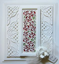PartiCraft (Participate In Craft): Stained Glass Striplet Mini Rose Garden Striplet
