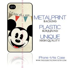 Disney Classic's Vintage Mickey Mouse iPhone case