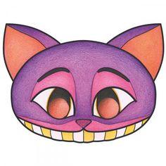 Máscara para colorear y recortar - Halloween - 24 páginas - Fotografía n°4