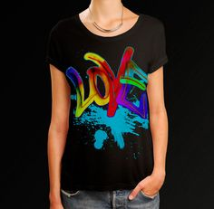 Love You All The Time T-Shirt $35.00 #Tops #Clothes #Fashion #Airbrush