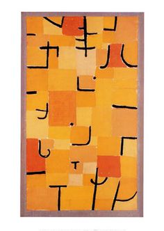 Paul Klee_Signes en Jaune