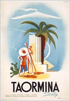 ITALY Sicily - Taormina - Puppo, 1952