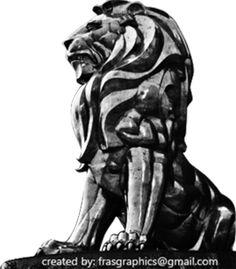PSD Detail | Lion Statue 1 | Official PSDs