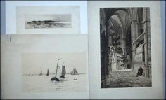 A COLLECTION OF THREE 19TH CENTURY ETCHINGS. Lot 150-6014