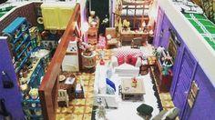 O UNIVERSO DOIDO DA CLA: Estou apaixonada por essa miniatura do apartamento...