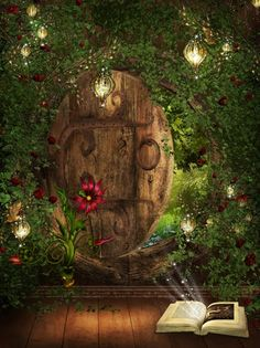 Gateway book...journey into the land of your favorite book...find your way back through this magical door...