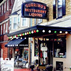 Guarino's 12309 Mayfield Rd., Cleveland Established in 1918, Guarino's in Little Italy is Cleveland's oldest restaurants and is still a family operation. While the decor tends toward Victoriana, the kitchen's pasta, veal and seafood dishes are all Italian. Photo via Cleveland Ohio, Cleveland Rocks, Cleveland Restaurants, Best Seafood Restaurant, The Buckeye State, Little Italy, Old World Charm, Cool Bars, Old School