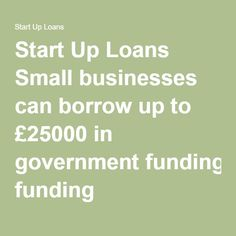 Government scheme providing funding and support to small businesses in the UK. Find out if you can use a Start Up Loan to fund your business. Small Businesses, The Borrowers, Finance, Canning, Food Trailer, Kabob, Van, American, Small Business Resources
