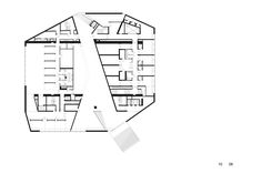 Casa da Musica,Level 01 Plan © OMA