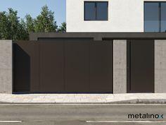 Hliníkové oplotenie/Aluminium gate Aluminium Gates, Boundary Walls, Garage Doors, Outdoor Decor, Home Decor, Home, Goals, Dios, Facade House