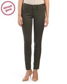 e8b04ed75b42 Skinny Colored Denim Jean - Skinny - T.J.Maxx