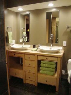 Another idea for downstairs bath from Bathroom Sinks and Vanities from Bath Crashers : Home Improvement : DIY Network
