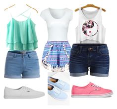 """summer outfits"" by nikkifas ❤ liked on Polyvore"