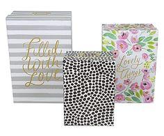 Set de 3 cajas Style