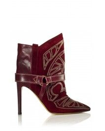 Isabel Marant Blackson Boots Red
