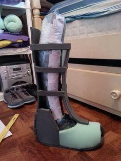 Iron Man boots frame