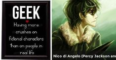 Nico di Angelo (Percy Jackson and Heroes of Olympus by Rick Riordan) | Who is your fictional boyfrie