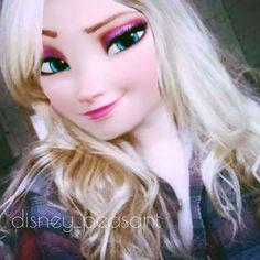Stella Frost ❄ ( Daughter Of jelsa ) Hipster Disney, Cute Disney, Disney Fan Art, Disney Style, Jack Frost, Princesse Disney Swag, Cute Frozen, Modern Disney Characters, Disney Princess Movies