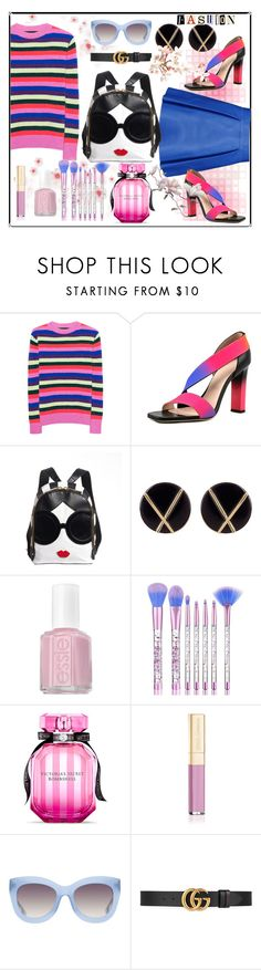 """the bold one"" by sayari07 ❤ liked on Polyvore featuring The Elder Statesman, Dsquared2, Christopher Kane, Botkier, Essie, Victoria's Secret, Dolce&Gabbana, Alice + Olivia and Gucci"