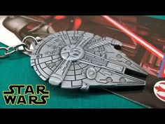 Star Wars Millennium Hawh Starship Metal Keychain Unpacking Review  #starwars https://youtu.be/S5IuZ4ENAAE