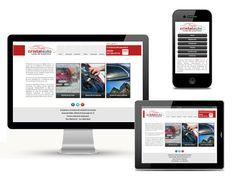 Sitio web responsive para la empresa Cristalauto (Granada) www.cristalautogranada.com