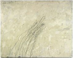 fivewordsinaline:    Cy Twombly - The Castle