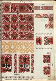 Folk Embroidery, Hand Embroidery Designs, Floral Embroidery, Embroidery Patterns, Folk Fashion, Embroidery Techniques, Pattern Books, Fabric Patterns, Cross Stitching