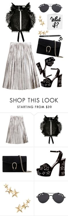 """""""Zimmerman"""" by thestyleartisan ❤ liked on Polyvore featuring Gucci, Zimmermann, Yves Saint Laurent, Kenneth Jay Lane, Givenchy, Bobbi Brown Cosmetics and ruffles"""