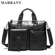 MARRANT Genuine Leather Bag Fashion Handbags Cowhide Men Crossbody Bags Men's Travel Bag Tote Laptop Briefcases Men Bags 260 <3 Find similar products by clicking the VISIT button