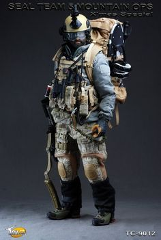 toyhaven: Toys City: SEAL Team 5 Mountain Ops (2010 X'mas Special) PREVIEW