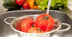 DIY Homemade Fruit and Vegetable Wash