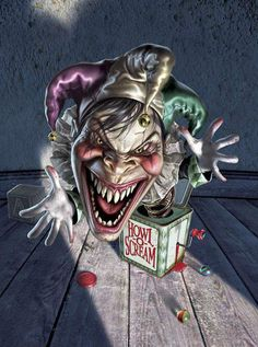 #clowns #creepy