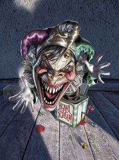 #clowns #creepy