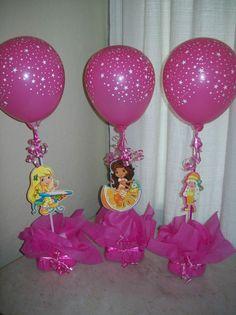 Pin De Maritza Martinez En Centros De Mesa Centro De Mesa Infantil Decoracion De Fiestas Infantiles Centros De Mesa Princesas