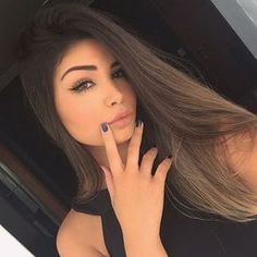 Looking after ones own lengthy hair truly does not need to be tricky. There are a number of excellent products and cures readily available for use nowadays. Beauty Makeup, Hair Makeup, Hair Beauty, Selfie Poses, Tumblr Girls, Girl Photography, Hair Looks, Pretty Face, New Hair