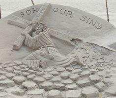 sand art..
