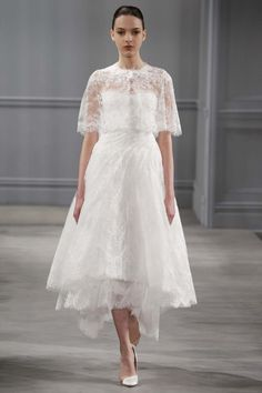 Monique Lhuillier 2014 Bridal Collection from NY Bridal Market