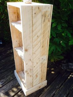 Original  My First Attempt: A Bathroom Cabinet  #bathroom #palletcabinet #recyclingwoodpallets I wanted to make a floor standing bathroom cabinet that was a bit different.  ...